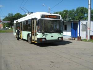 Білоруський тролейбус БКМ—ЧАЗ 321, який збирається у Чернігові і подобається віце-прем'єру Вілкулу