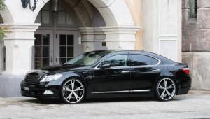 Лексус LS 460 - найдорожча автівка в гаражі Нацбанку.