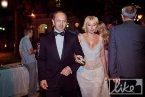 Сергій і Вікторія Тігіпки на вечірці їхнього кінофестивалю в Одесі