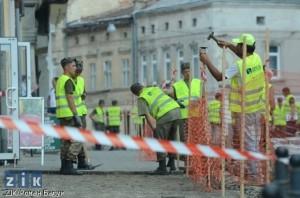 """Солдати Міністерства інфрастуктури працюють на """"Онур"""""""