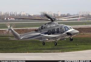 Вертоліт Януковича  Agusta AW139 (номер UR-CRB) ціною майже 10 мільйонів євро.