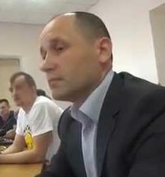 Колишній водій замгенпрокурора Степан Харабара.