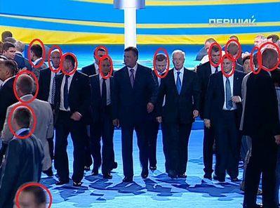Янукович параноїдально ставився до безпеки, використовуючи неймовірну кількість охоронців.
