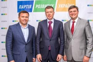 Олександр Качний (зправа) тепер очолює Київську облорганізацію Партію розвитку України Сергія Льовочкіна.