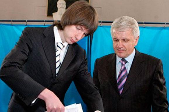Володимир Литвин привів свого сина Івана в бізнес і політику.