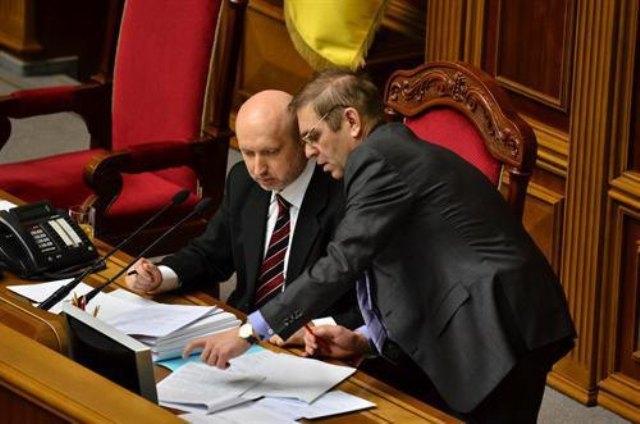 Олександр Турчинов і Серігй Пашинський