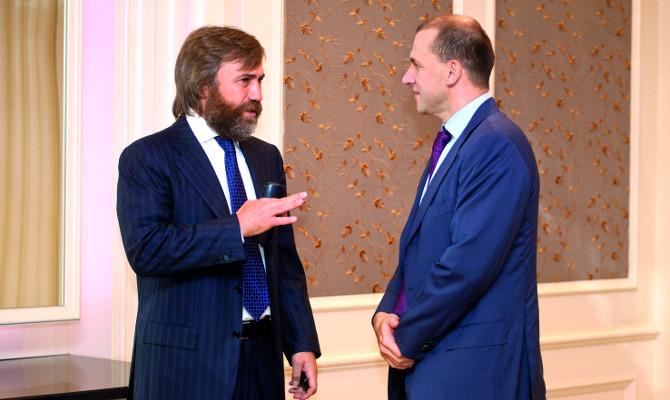 Росіяни Вадим Новінський і Констятин Григоришин є одними з найбагатших людей в українському бізнесі.