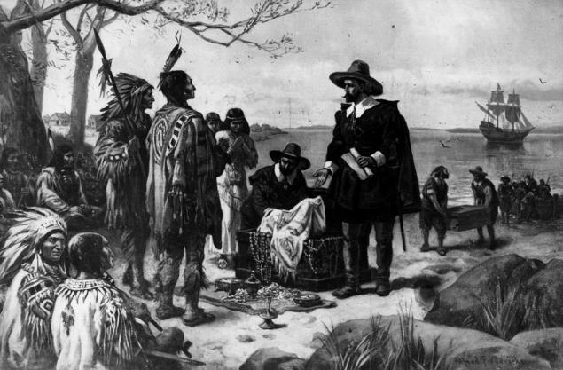 Європеєць Пітер Міньойт у 1626 році купив у індіанців острів Манхеттен, з якого зародився Нью-Йорк, за купку ганчірок, горілку та буси на загальну суму 24 долари.