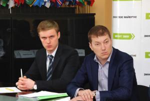 Лунченко і Бровді на фоні партії Яценюка.