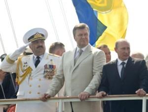 Юрій Іл'їн, Віктор Янукович і Володимир Путін