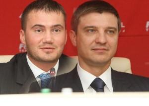 Віктор Янукович і Руслан Циплаков