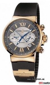 Ulysse Nardin, Marine Collection, Maxi Marine Chronograph, 356-66-3/319