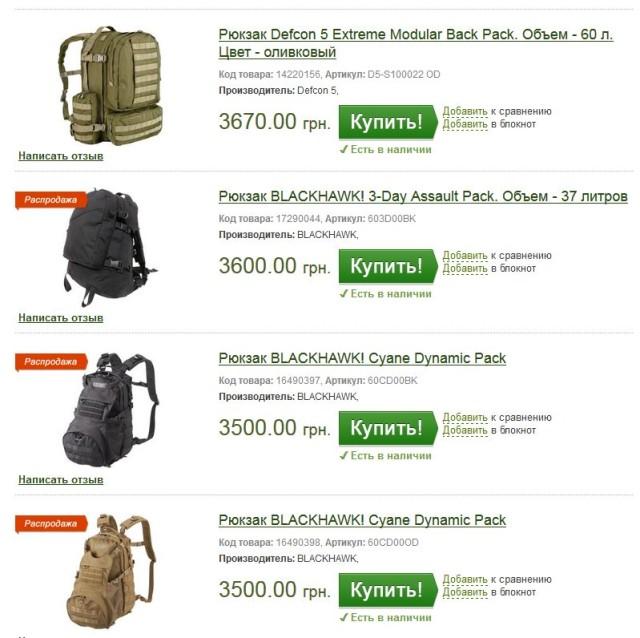 ібіс рюкзаки