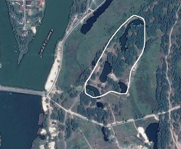 На цих гектарах мають бути пять будиночків бази відпочинку, які значаться у держреєстрі