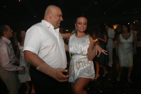 Микола Злочевський і донька Каріна на вечірці з нагоди закінчення школи