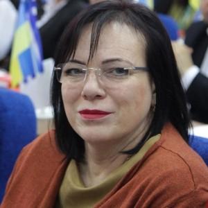 Ірина Ценкер на першому засіданні Херсонської міськради 7 скликання