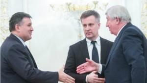 Арсен Аваков, Валентин Наливайченко і Віктор Шокін