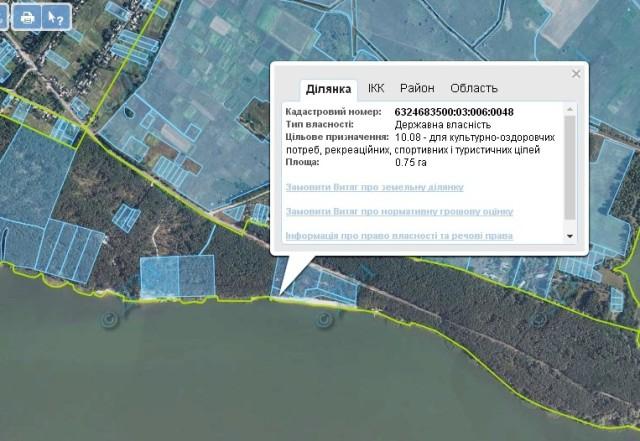 Денисюк-кадастрвоа карта