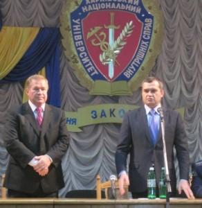 Ректором ХНУВС Сергія Гусарова призначив міністр МВС Віталій Захарченко.