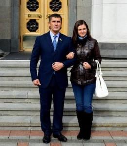 Віталій Ярема і його донька Ілона