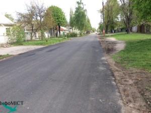 Вже відремонтована вулиця Пушкіна
