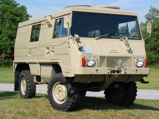 Всюдихід австрійської компанії Steyr-Daimler-Puch, створений на замовлення швейцарської армії. Перші серійні екземпляри випущені у травні 1971 року