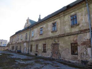 келії Домініканського монастиря у Жовкві