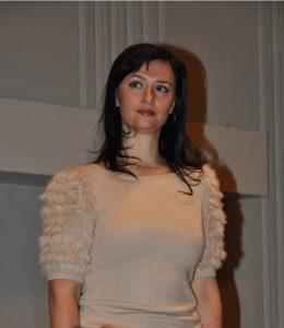 Юлія Кулікова у 2013 році під час представлення її у якості начальника Головного управління юстиції в Донецькій області