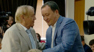 Нардеп-бізнесмен Вячеслав Богуслаєв і губернатор Костянтин Бриль