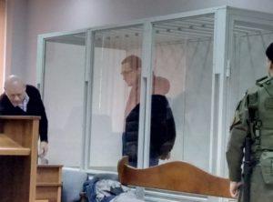 """Вадим Дратвер у залі суду 18 січня. Фото """"Наших грошей""""."""