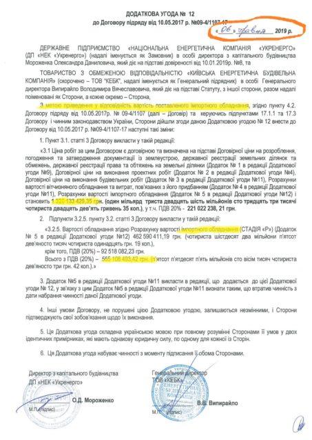 """«Укренерго"""" не опустило Ціну імпортного обладнання для Кремінської підстанції за півмільярда"""