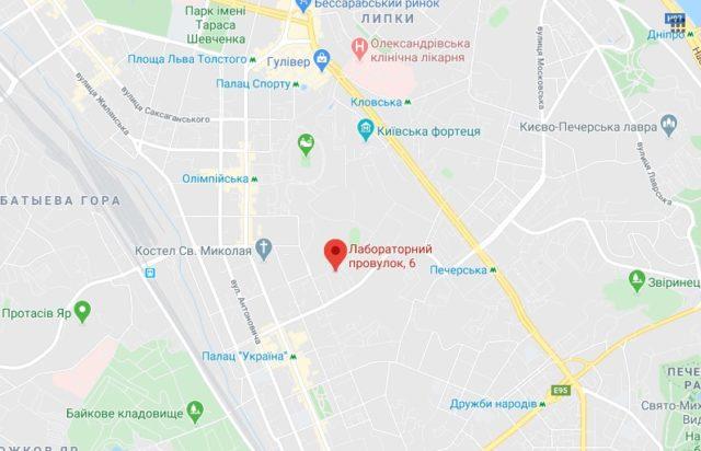 СБУ отримала документи на будівництво житла в центрі Києва