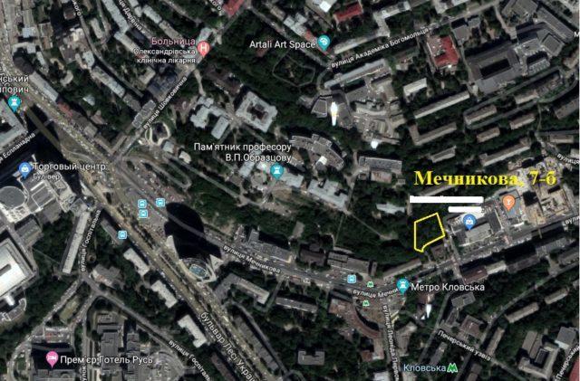 Строк розслідування по забудові фірмою Бондара схилу над Олександрівською лікарнею продовжено до грудня