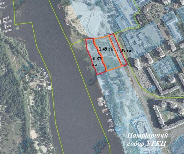 Суд скасував рішення Київради і поновив оренду землі під забудову на березі Дніпра