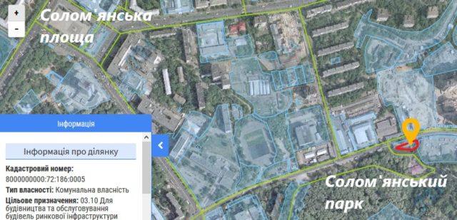 Прокуратура розірвала оренду однієї з ділянок біля Солом'янського парку, де син Омельченка запланував 25-поверховий комплекс