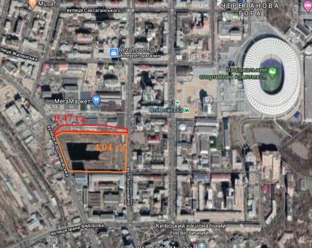Сімейство де Балкані відсудило ділянку в центрі Києва під забудову житловим комплексом