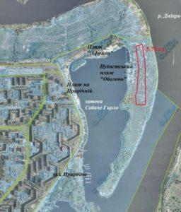 Окружний суд зобов'язав Кличка дати забудувати 6 га біля Собачого Гирла на Оболоні