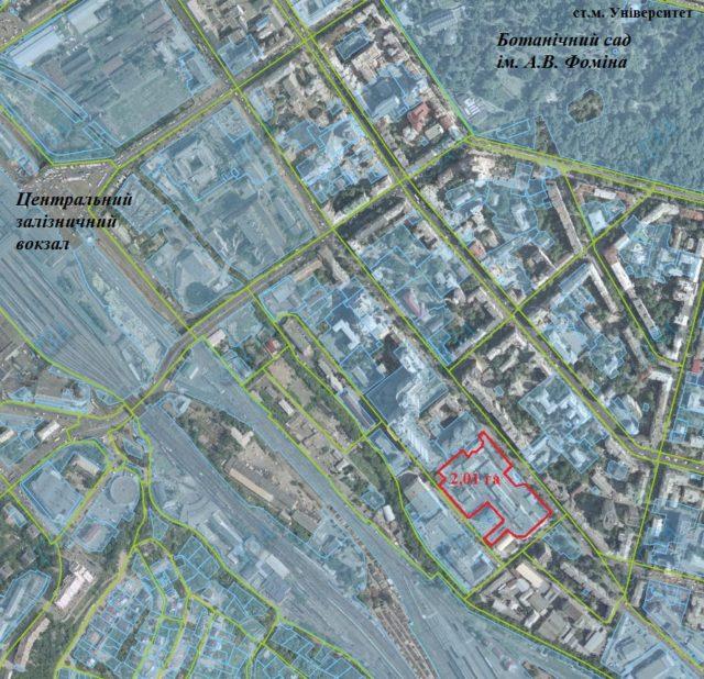 КМДА зобов'язали видати вихідні дані на новий житловий комплекс на Жилянській