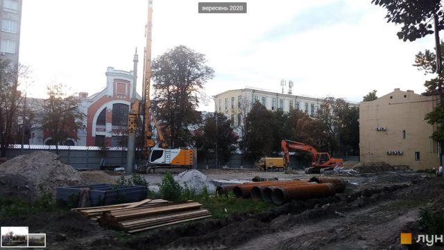 Оточення Столара почало будівництво ЖК навпроти «Арсеналу» з перевищенням дозволеної поверховості (фото)