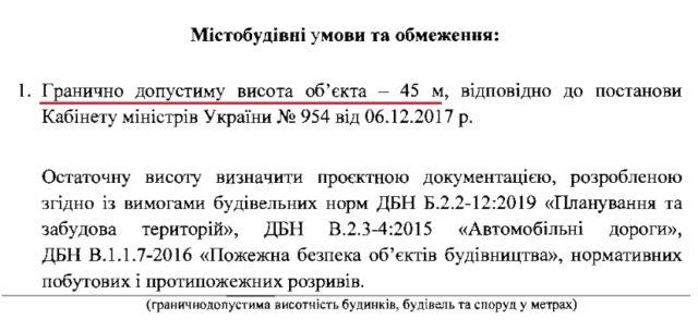 Фірма з групи друга Медведчука отримала вихідні дані на будівництво 15-поверхового «об'єкта дорожнього сервісу»