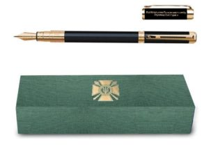 Генштаб Збройних сил купує подарункові ручки Parker з позолотою по 9 тисяч