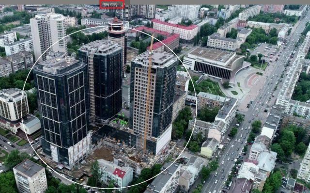 Фірма Глімбовського через суд змусила ДАБІ внести зміни в дозвіл на будівництво ЖК біля Палацу «Україна»