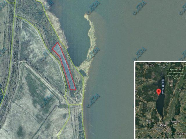 Суд повернув лісгоспу 1,5 га на березі Дніпра поблизу Києва