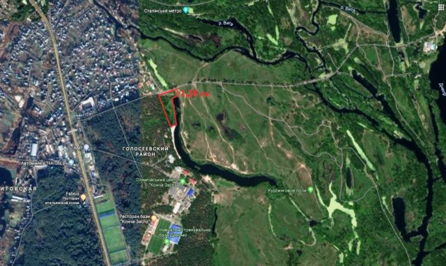 Суд відмовився забрати у Крючкова більше гектара в Конча-Заспі, які він отримав завдяки трьом самовільно збудованим будкам