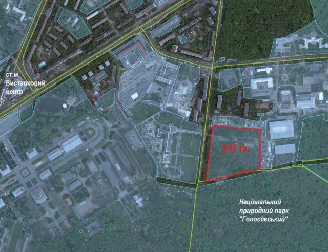 СБУ розірвала договір про будівництво житлових будинків на 4,6 гектарах, де планувала отримати 327 квартир