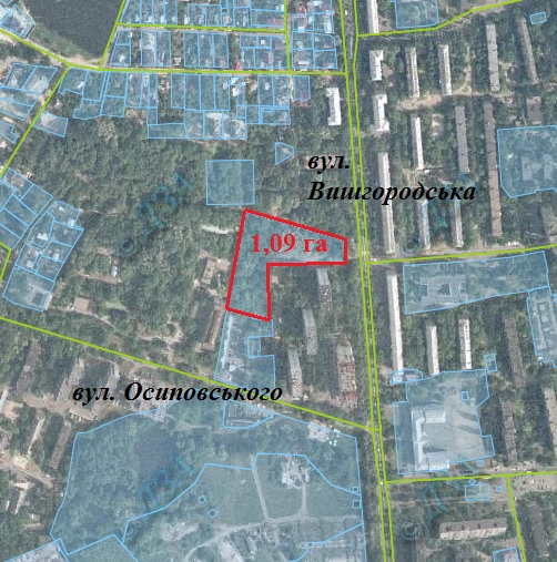 Забудовники через суд відновили оренду ділянки на Крістеровій гірці, яку Київрада розірвала торік