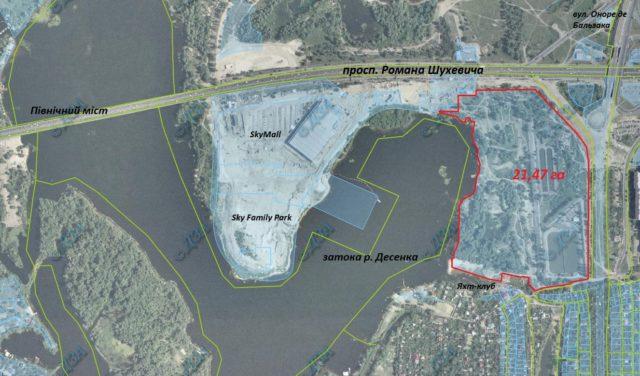 Власник «Фуршету» таки отримав 21 га в районі затоки Десенки під інвестпроект