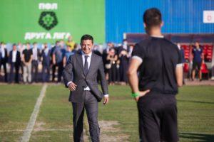 «Великі будівельники» обманули Зеленського з міжнародним футболом на стадіоні у Кривому Розі